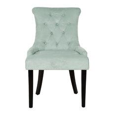 Safavieh Laura Dining Chairs, Set of 2, Light Blue