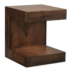 Aspenhome Nova Alder DU914-TOB End Table Tobacco