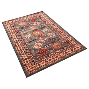 Kashqai Rectangular Traditional Rug, 160x240 cm