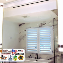 Are You, Hunting For Wood or Poly Plantation Shutters? - (772) 872-6805