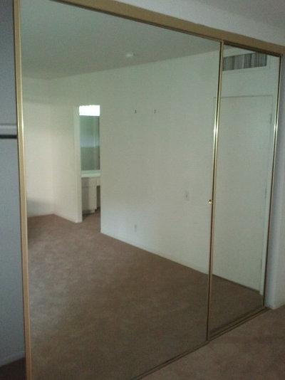 by lawrence karol admirable design mirrored closet door