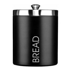 Premier Housewares Bread Bin, Black