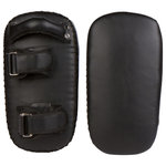"""Trademark Innovations - 16"""" Kickboxing MMA Thai Training Kick Pads, Set of 2 - Train safely with these durable Thai training kick pads.  Each pad measures 16""""L x 8""""W x 3.5"""" thick and come with 2 adjustable velcro straps with metal loops to fasten securely.  The handle is riveted for extra stability.  Use to improve strength and accuracy.  Comes as a set of 2.  By Trademark Innovations."""