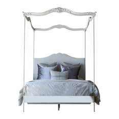 Eloquence - Aria Queen Canopy Be Stone - Canopy Beds  sc 1 st  Houzz : farmhouse canopy bed - memphite.com