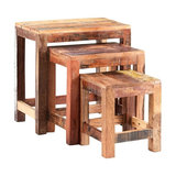 Drift Wood Nesting Tables, 3-Piece Set