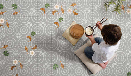 Modern Designs Give New Life to Cement Tiles