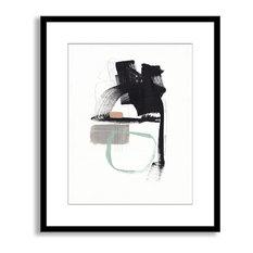 Jaime Derringer's 'Subdue' Framed Paper Art, 32x40
