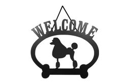 Welcome Sign, Poodle