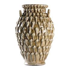 Ceramic Vase, Gray