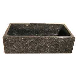 Rustic Kitchen Sinks by Quiescence Iron & Stone Decor