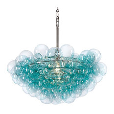 Bubbles Chandelier, Aqua