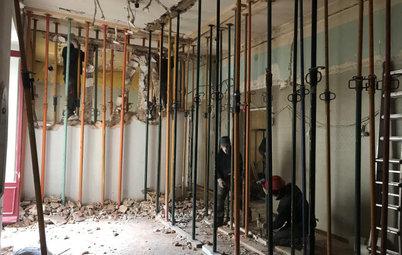 La delicada reforma de un piso señorial en el centro de Madrid