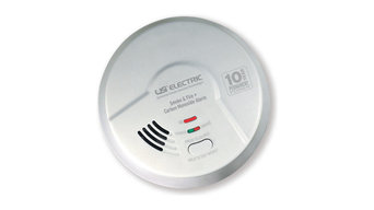 3-in-1 Smoke, Fire, and Carbon Monoxide Smart Alarm With 10 Year Sealed Battery,