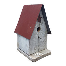 Barn wood Wren Bird House