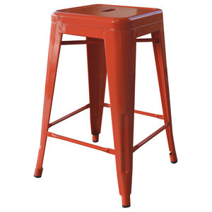 Remarkable Backless Metal Indoor Outdoor Stool With Square Seat 24 Camellatalisay Diy Chair Ideas Camellatalisaycom