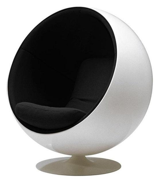 Modern Ball Chair, Eero Aarnio Globe Chair - Armchairs And Accent ...