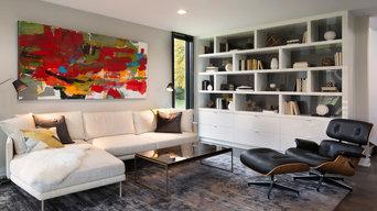 Modern High-Gloss Bookshelf (mHouse Project)