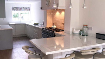 An Innova Linwood Alabaster Kitchen - Real Customer Kitchens