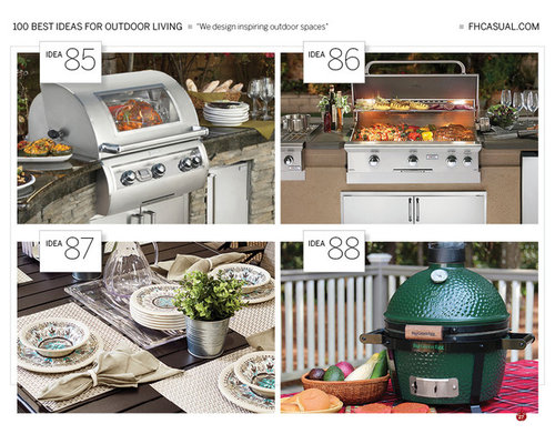 100 Best Ideas For Outdoor Living - Outdoor Seating and Outdoor Dining Sale - Outdoor Grills
