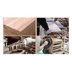 Solid wood interior design