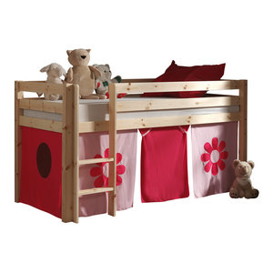 1285af2abd3d Dakota Single Mid Sleeper Bed With Workstation - Modern - High & Mid ...