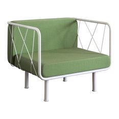 Jalousy Outdoor Armchair, Green