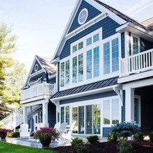 Hampton's style home exterior