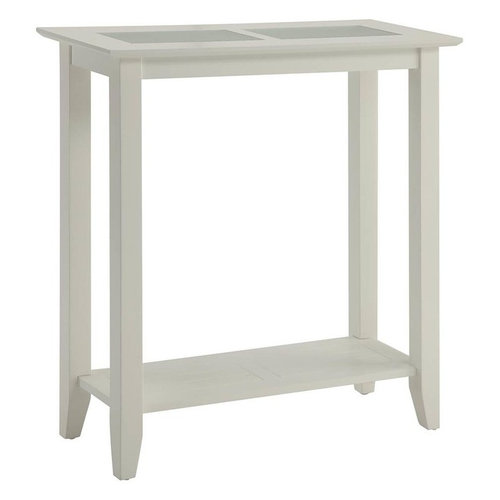hall table white. Hall Table, White By Convenience Concepts Table
