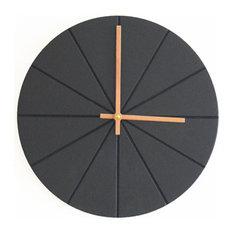VonHollstein. Wall Clock, Black