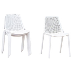 Contemporary Outdoor Dining Chairs by International Home Miami Corp