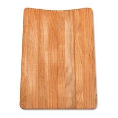 Wood Cutting Board, for Drop-In Equal Double Bowl