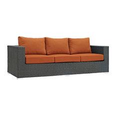 Modway Sojourn Outdoor Patio Sunbrella Sofa