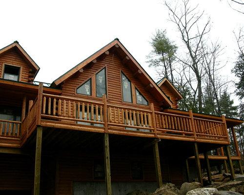 Big Twig Homes Katahdin Cedar Log Home Oxford Maine