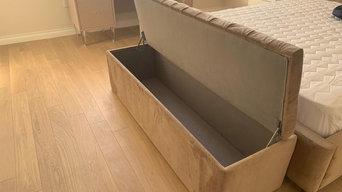 Кровать по индивидуальному проекту