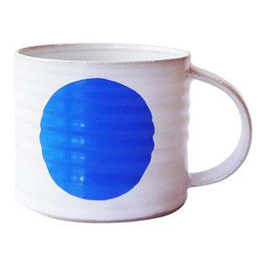 Spot Mugs, Blue, Large, Set of 2