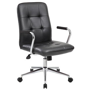 Cubes Black Arm Office Chair By Casabianca Home Contemporary Office Chairs By Hedgeapple