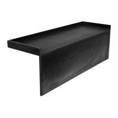 tileredi tileredi rb3212kit 28x12 bench kit fits 32 in d pan shower - Shower Benches