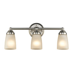 pictures of bathroom vanity lights. CHLOE Lighting  Inc Hemsworth Vanity Fixture Brushed Nickel Bathroom Lights Houzz