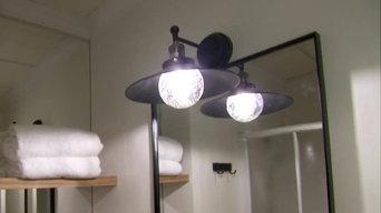 Iluminación Vintage en Hotel