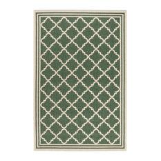 La Concha Green Multipurpose Indoor/Outdoor Rug, 121x182 cm