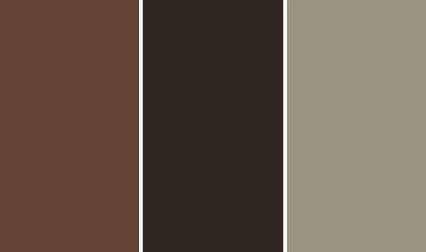 Colores de oto o marrones y grises para un dormitorio m s - Gama de colores grises ...