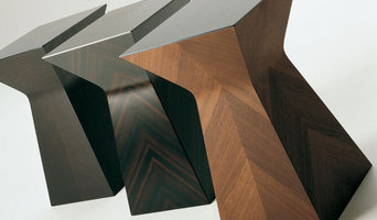 AHRPA Collection-Pyramid Side tables in various woods & finishes with metal top.