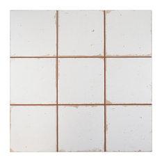"""13""""x13"""" Faventia Ceramic Floor/Wall Tiles, Manises"""