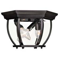 Transitional Outdoor Flush-mount Ceiling Lighting by Better Living Store
