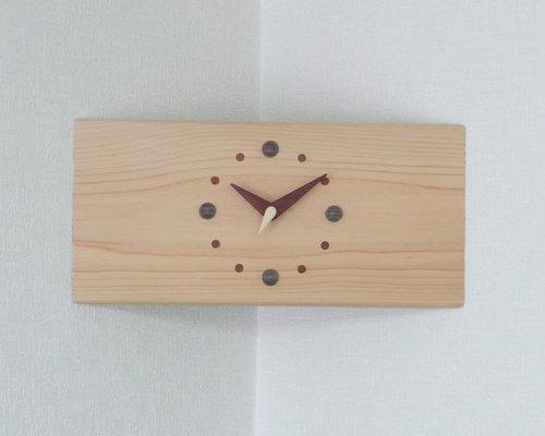 コーナー時計 - 壁掛け時計
