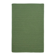 Colonial Mills, Inc - Simply Home Solid Rug, Moss Green, 12'x15' - Outdoor Rugs