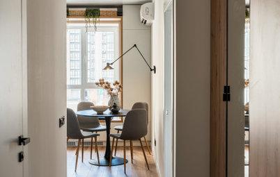 Проект недели: Кухня 12 кв. м. с газовой колонкой [найдите ее]