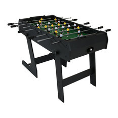 Sunnydaze Compact 48-Inch Folding Foosball Game Table - Create a Game Room