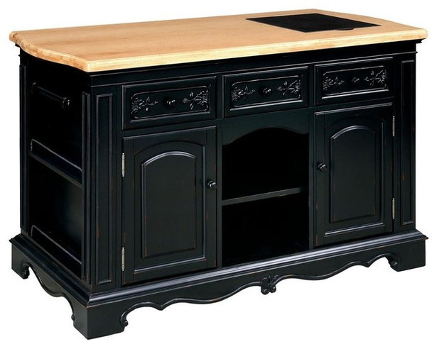 Traditional Kitchen Islands And Kitchen Carts by ShopLadder