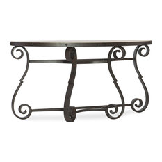 Hooker Furniture Hill Country Luckenbach Demilune Console Table